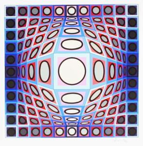 Gyemant by Victor Vasarely