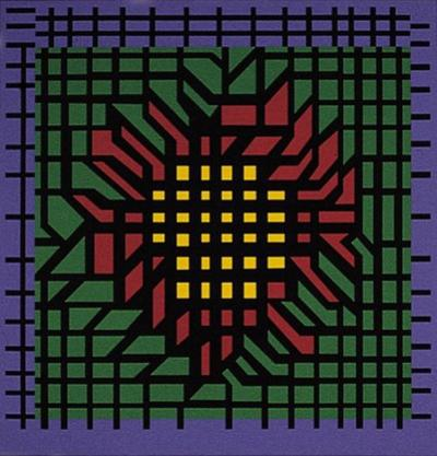Kat-Zag by Victor Vasarely