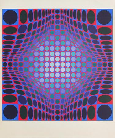 Ond-Fire by Victor Vasarely