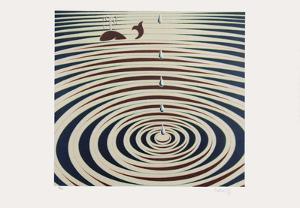 Origines - Etude de mouvement by Victor Vasarely