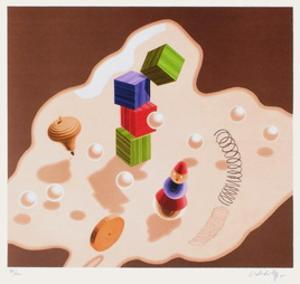 Origines - Jouets by Victor Vasarely