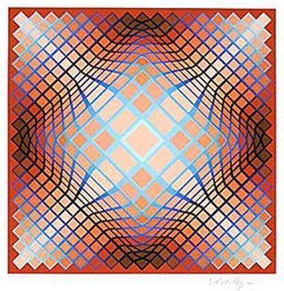 Sans Titre 2 (F.V. 3/30) by Victor Vasarely
