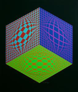 Tri-Dragg by Victor Vasarely