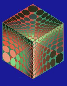 Tupa-2 by Victor Vasarely