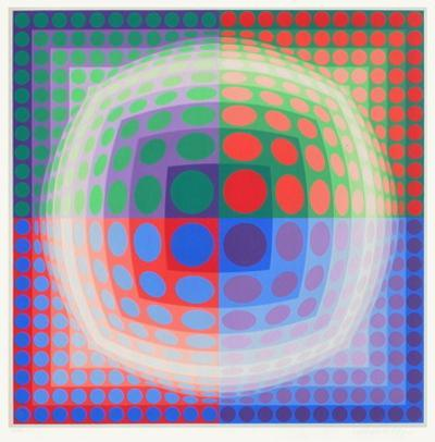 Vega-PAL by Victor Vasarely