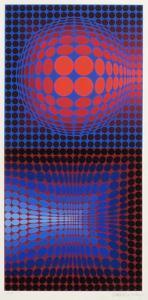 Vega Pauk by Victor Vasarely