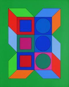 Xico IV by Victor Vasarely