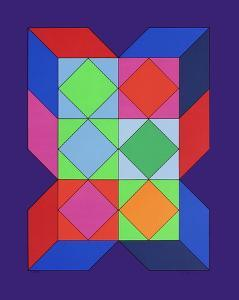 Xico V by Victor Vasarely