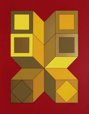 Xico VI by Victor Vasarely