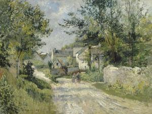 Le hameau de Valhermé (1880) by Victor Vignon