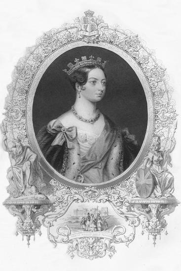 'Victoria', 1859-Unknown-Giclee Print