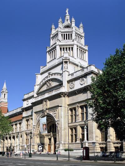 Victoria and Albert Museum, South Kensington, London-Peter Thompson-Photographic Print