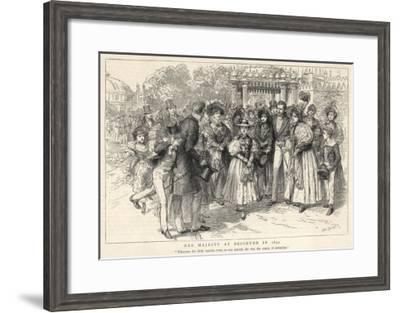 Victoria at Brighton--Framed Giclee Print