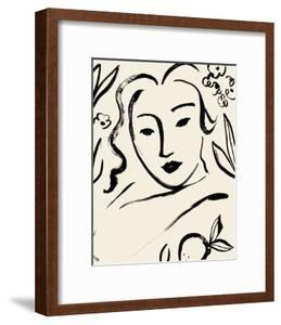 Matisse's Muse Portrait I by Victoria Barnes