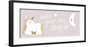 Sleepy Unicorn Collection D by Victoria Barnes