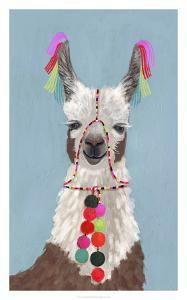 Adorned Llama I by Victoria Borges