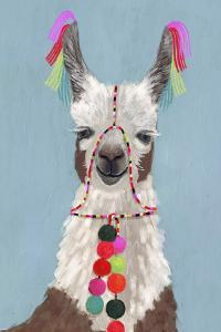 Adorned Llama I by Victoria Borges