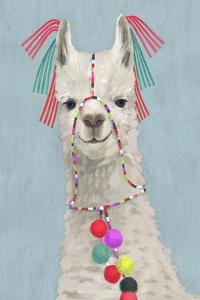 Adorned Llama II by Victoria Borges
