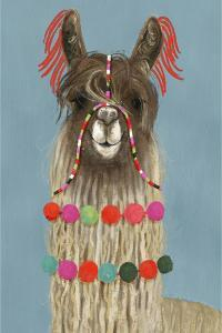 Adorned Llama IV by Victoria Borges