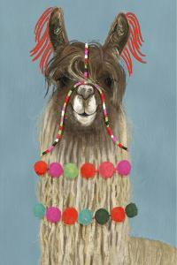 Adorned Llama IV by Victoria Borges