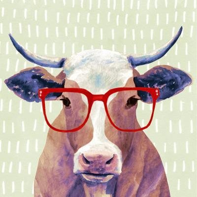 Bespectacled Bovine I by Victoria Borges