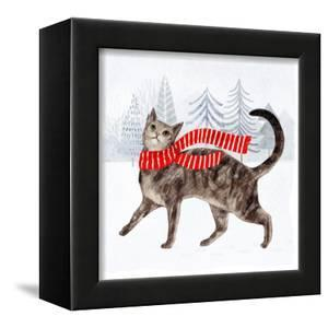 Christmas Cats & Dogs I by Victoria Borges