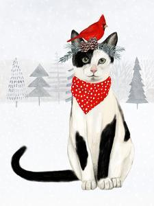Christmas Cats & Dogs VI by Victoria Borges
