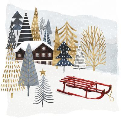 Christmas Chalet II by Victoria Borges