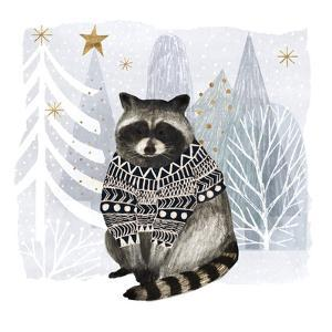 Cozy Woodland Animal IV by Victoria Borges