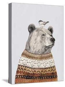 Fair Isle Bear I by Victoria Borges