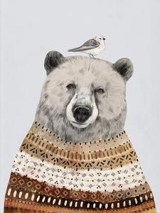 Fair Isle Bear II by Victoria Borges