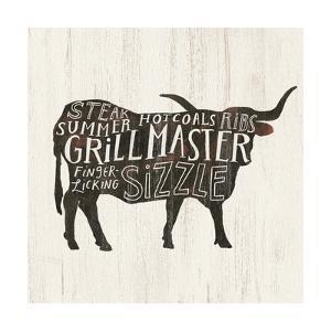 Farmhouse BBQ I by Victoria Borges