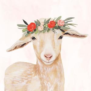 Garden Goat I by Victoria Borges