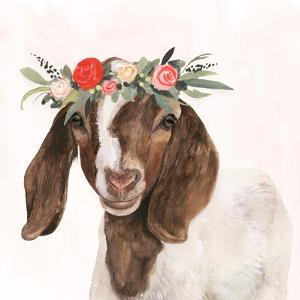 Garden Goat II by Victoria Borges