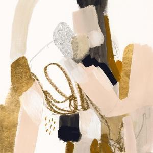 Golden Scatter I by Victoria Borges