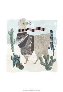 Holiday Llama I by Victoria Borges