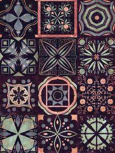 Kaleidoscope Tile II by Victoria Borges