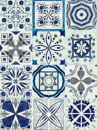 Kaleidoscope Tile III by Victoria Borges