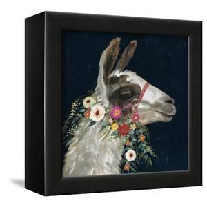 Lovely Llama I by Victoria Borges