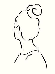Minimal Profile I by Victoria Borges