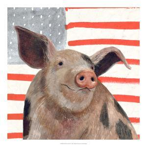 Patriotic Farm IV by Victoria Borges