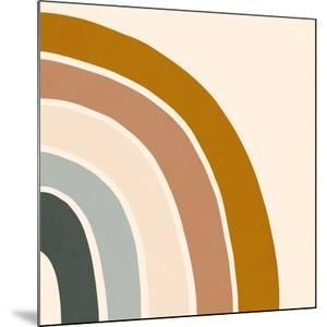 Retro Rainbow II by Victoria Borges