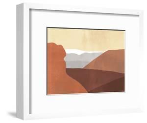Sedona Colorblock I by Victoria Borges