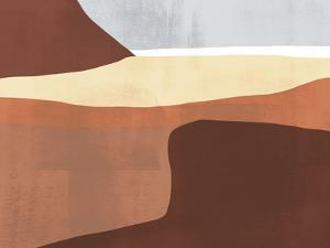 Sedona Colorblock II by Victoria Borges