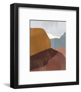 Sedona Colorblock III by Victoria Borges