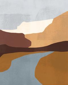 Sedona Colorblock IV by Victoria Borges