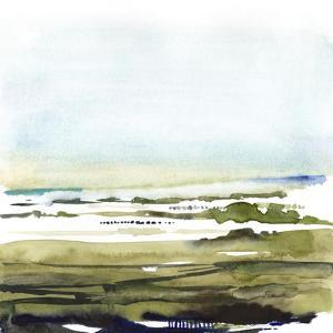 Watercolor Everglade I by Victoria Borges
