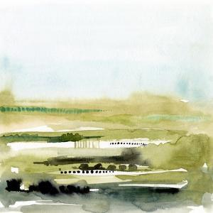 Watercolor Everglade II by Victoria Borges