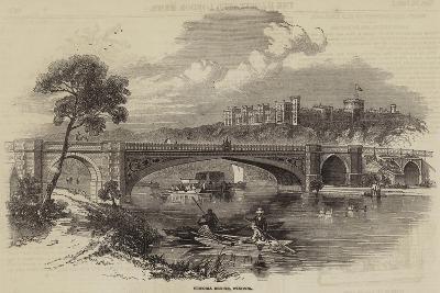 Victoria Bridge, Windsor--Giclee Print