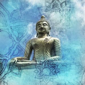 Buddha-Mandala by Victoria Brown